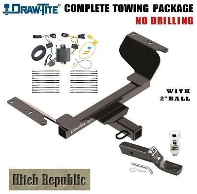"""FITS 2018-2019 CHEVY EQUINOX PREMIER 2.0,  TRAILER HITCH PACKAGE w 2"""" BALL 76419"""