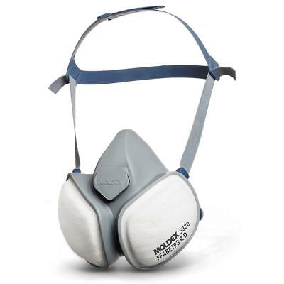 Moldex ABE1P3R Half Mask with Pleated Filter Technology Grey Ref M5330