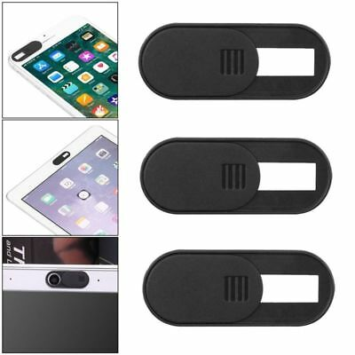 3X Webcam Cover Slider Camera Privacy Protect Sticker for PC Laptop Tablet Phone