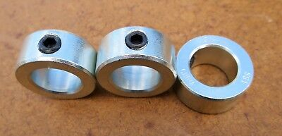 "DAYTON Shaft Collars, Set Screw, 3/4""  Brand new, Package of three"