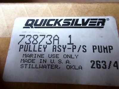 New OEM Mercruiser Power Steering Pulley Part Number 73873A 1