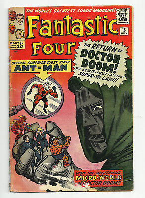 Fantastic Four #16  Early Ant Man X Over