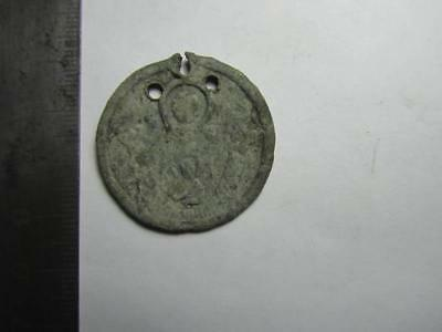 Medieval finds №98  Pendant  Metal detector finds  100% original
