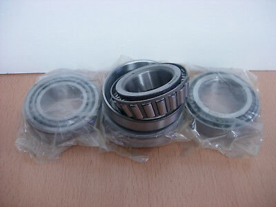 Axle Set of 4  LM48548 and LM48510 Trailer Wheel Bearing Indespension