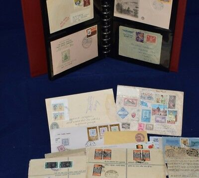 Nepal Batch of 28 Covers & Cards All Pictured Interesting Lot