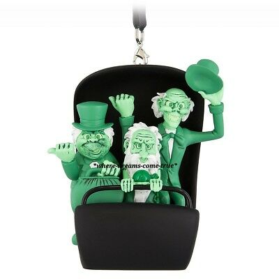 Hitchhiking Ghosts in Doom Buggy Ornament - The Haunted Mansion