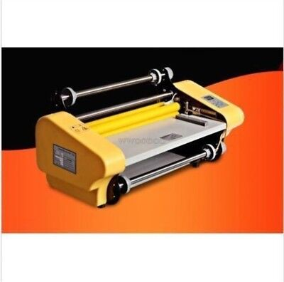 Hot And Cold Laminator Double - Sided Laminating Machine New ar