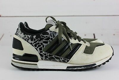 adidas ZX 700 LD Graph Men's White/Black/Olive Sz 9.5 Shoes