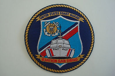 United States Coast Guard Uscg 1790 41407 Ship Boat Station San Diego Patch
