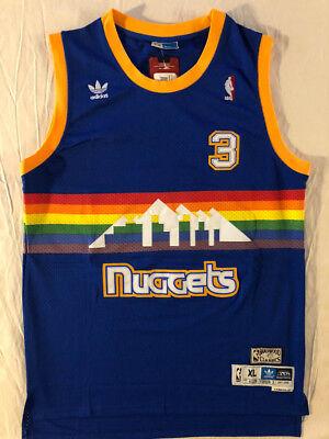 official photos bfdf2 4dc02 canada allen iverson denver nuggets throwback jersey f1c7a df328