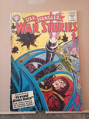STAR-SPANGLED WAR STORIES #63 comic book RD1128