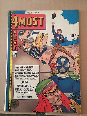 4MOST v.6 #4 Football cover by Joe Certa RD1378