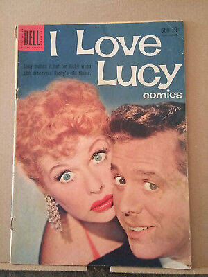 I LOVE LUCY COMICS #22 Lucille Ball photo cover RD1367