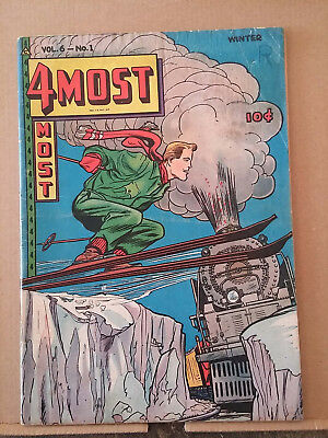 4MOST v.6 #1 Skiing by a train cover by Jack hearns RD1377