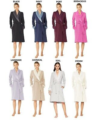 NEW UGG DUFFIELD II Cozy Soft Shawl-Collar Spa Women s Robe Bathrobe ... f7dc34c68