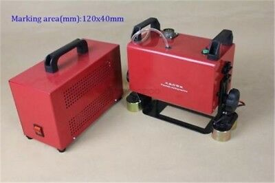 120*40MM Portable Pneumatic Dot Peen Marking Machine For Surface Marking New lv