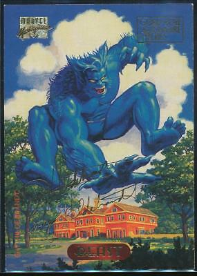1994 Marvel Masterpieces Gold Signature Trading Card #3 Beast
