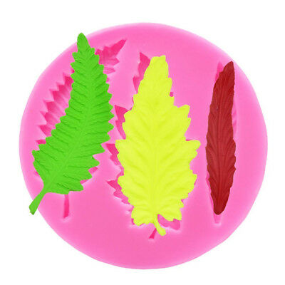 (Stylea) - Leaves Silicone Moulds,Leaf Shape Silicone Fondant Moulds,Christmas