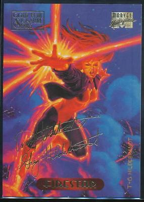 1994 Marvel Masterpieces Gold Signature Trading Card #38 Firestar
