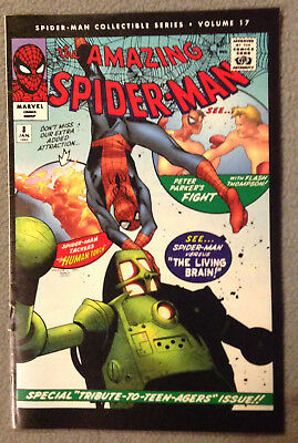Spider-Man Collectible Series Volume #17  -The Living Brain -Marvel Reprint 2006