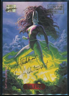 1994 Marvel Masterpieces Gold Signature Trading Card #67 Lilith