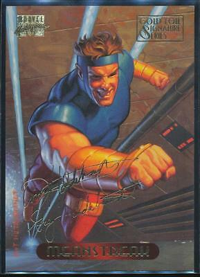 1994 Marvel Masterpieces Gold Signature Trading Card #72 Meanstreak