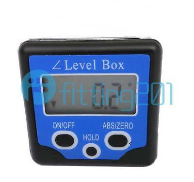 NEW Digital Box Gauge Angle Protractor Level Inclinometer Magnetic Base 0-360°