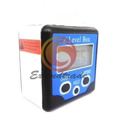 Floureon LCD Digital Inclinometer Level Box Gauge Angle Finder Protractor New