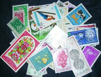 Bulgaria Postage Stamps over 100 stamps mixed  great condition