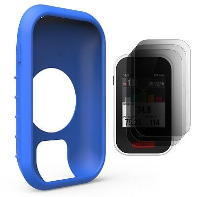 (Blue) - TUSITA Protective Cover for Polar V650 , Silicone Skin Case with