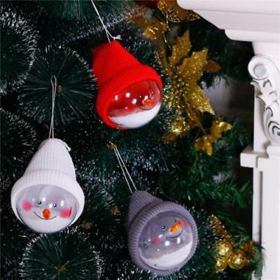Lovely Christmas Tree Decoration Ornaments Snowman Ball Creative Doll Pendant LI
