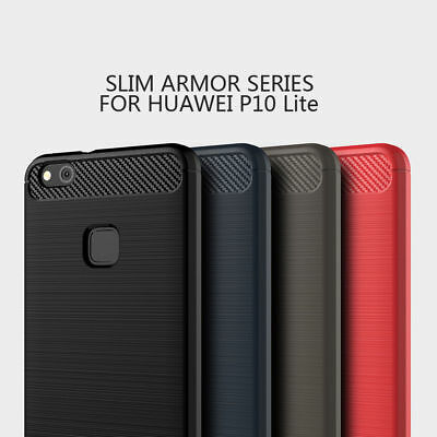 For Huawei P8 P9 P10 Lite Plus Shockproof Silicone Hybrid Case Soft TPU Cover