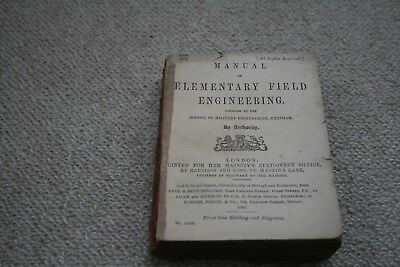 Manual Of Elementary Field Engineering Published 1888