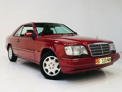 1995 Mercedes-Benz W124 E320 320Ce Coupe - 1 Owner - Low Mileage Almandine Red