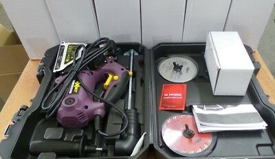 Exakt  Circular Saw - DC270 with Case and 2 Blade Kit + Cutting Accessory kit