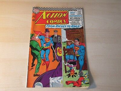 Action Comics #337 Dc Silver Age Higher Grade Superman & Supergirl Stories!!