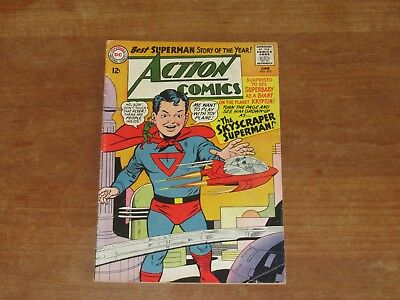 Action Comics #325 Dc Silver Age Higher Grade Superman & Supergirl Stories!