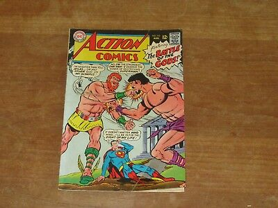 Action Comics #353 Dc Silver Age Higher Grade Superman & Supergirl Stories!!