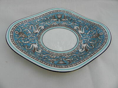 Wedgwood FLORENTINE TURQUOISE W2614 SAUCER TRAY ONLY for GRAVY SAUCE BOAT.