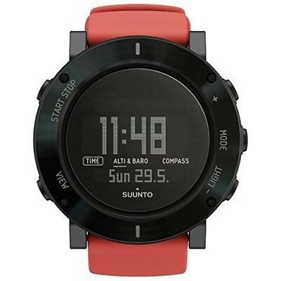 Suunto Crush Core Watch-Coral/Black. Delivery is Free