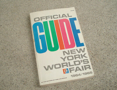 Vintage 1964 1965 NEW YORK WORLD'S FAIR EXPOSITION OFFICIAL GUIDE BOOK