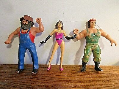 1983-84 WWF Wrestling Figurines Toys Hillbilly Jim Victoria