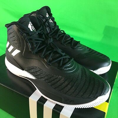 7c3bae1f9b90 Adidas SM D Rose 8 NBA   NCAA Men s Size 11.5 BOOST Basketball Shoes Black  NEW