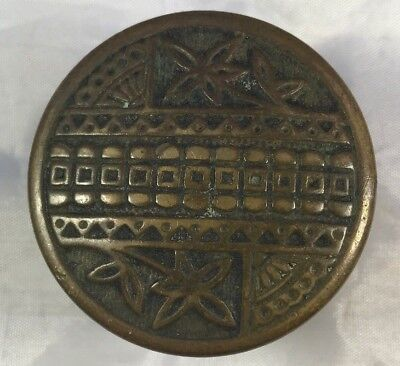 Eastlake Victorian Brass Antique Doorknob Door Knob - Make Me An Offer!