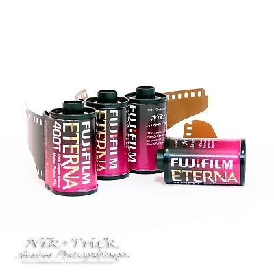 Fuji Eterna 400T Motion Picture Film ~ 35mm 30exp Colour Negative Film
