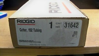 "NEW RIDGID 152 31642 1/4"" - 2 5/8"" quick acting tubing cutter FREE PRIORITY S&H"