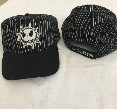 Disney Parks Jack Skellington Nightmare Before Christmas hat cap size youth, NEW