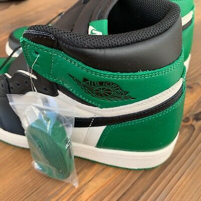 1c71f0b1359 New Deadstock Nike Air Jordan Retro 1 High OG Pine Green Size 11.5 US 555088 -