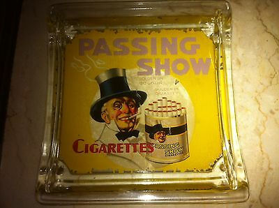 Rare Passing Show Cigarettes Antique Advertising Counter Tip Change Tray Dish