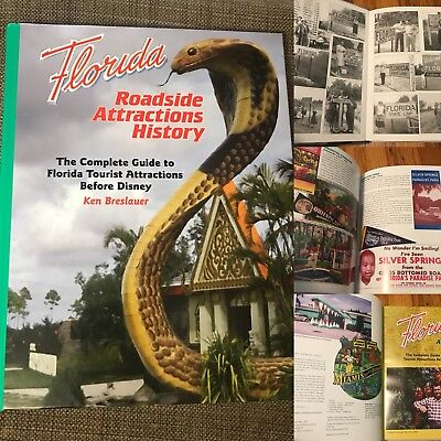 Florida Roadside Attractions History NEW 208-page hardcover Book
